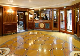 lobby tiles cleaning